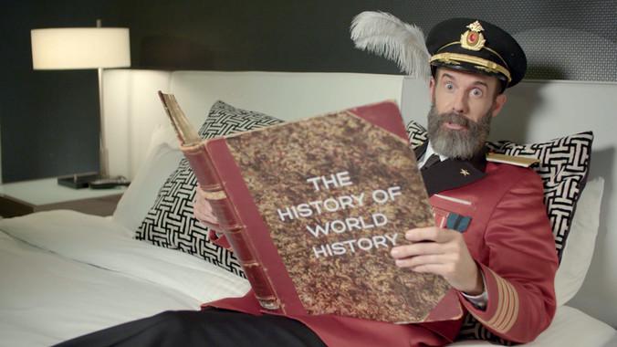 "Hotels.com ""Captain Obvious"""