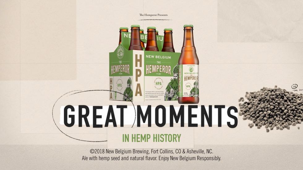 """New Belgium Brewing """"Hemperor Pale Ale"""""""