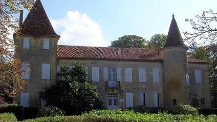 Château de Castelmore / Замок Кастельмор. Настоящий замок настоящего д'Артаньяна
