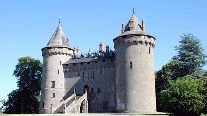 Château de Châteaubriant / Замок Шатобриан. Фаворитка короля