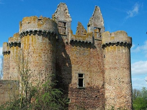 Château de l'Ebaupinay / Замок л'Ебопине