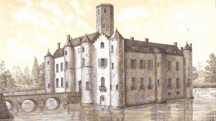 Château d'Esquelbecq / Замок Эскельбек. Легенда «Дама Эскельбека»