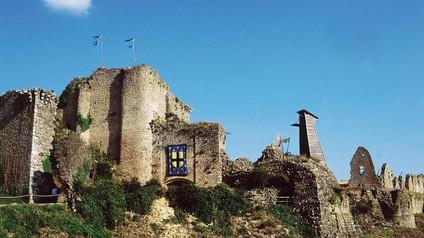 Château de Tiffauges / Замок Тиффож. Замки «Синей бороды»
