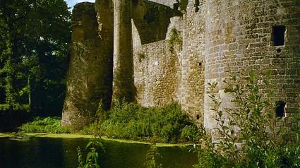 Château de la Hunaudaye/ Замок ля Гюноде.