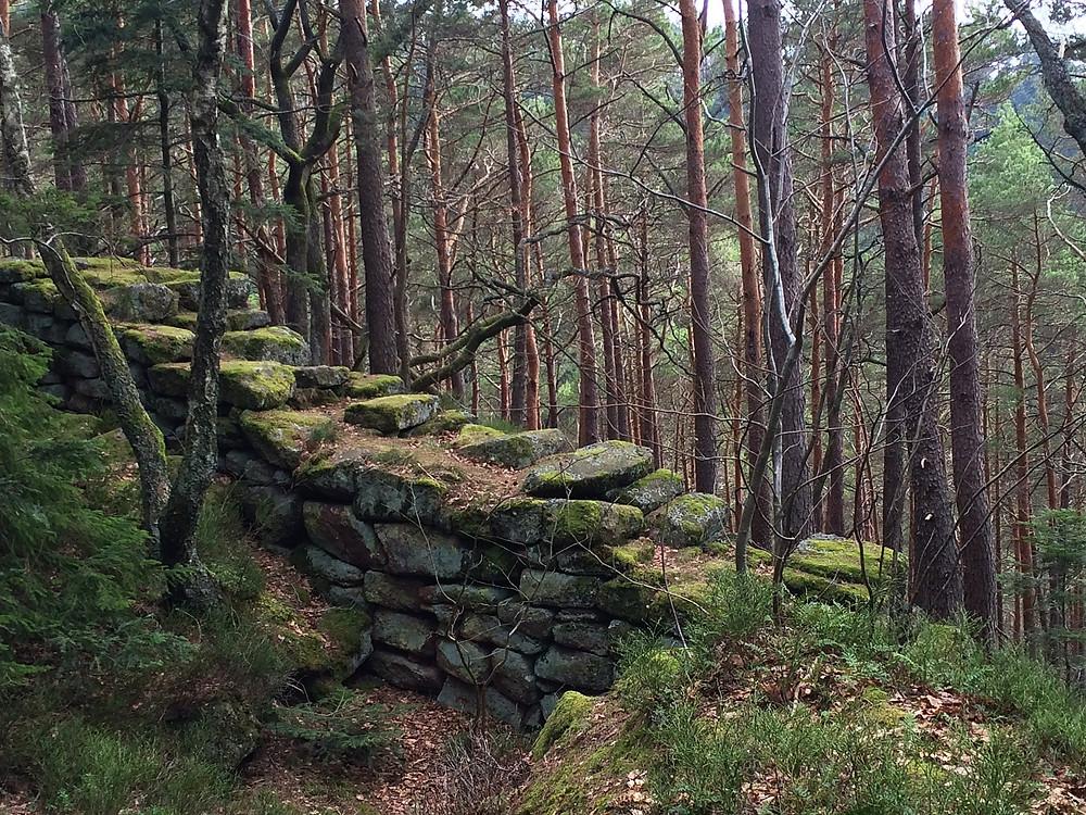 Языческая стена друидов
