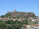 Château-Forteresse de Polignac / Замок-Крепость Полиньяк. Храм Аполлона