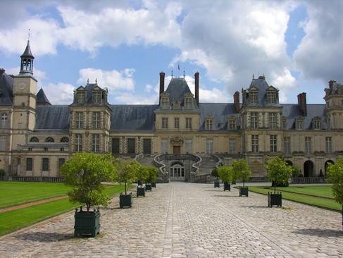Château royal de Fontainebleau / Королевский Дворец Фонтенбло. Ощущение вечной роскоши