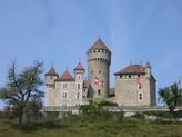 Château de Montrottier / Замок Монротье. Легенда о Диане