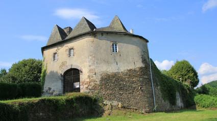 Château de Comborn / Замок Комбор.
