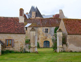 Château de Meauce / Замок Мос. Круглый замок