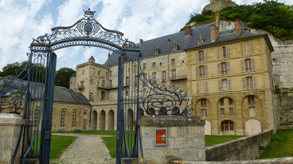 Château de la Roche-Guyon / Замок ля Рош-Гийон. Защита от викингов
