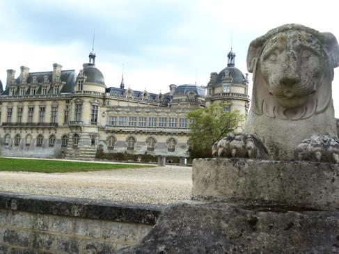 Château de Chantilly / Замок Шантийи. Взбитые сливки