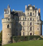Château de Brissac / Замок Бриссак. Привидение «Дама в зеленом»