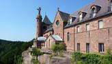 Château-abbaye de Hohenbourg / Монастырь Хоенбург. Легенда о прекрасной Одиль – покровительнице Эльз