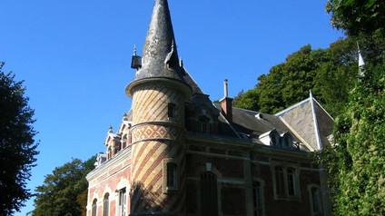 Château les Aygues (Étretat) / Замок Лез-Эг. Изящество благородства