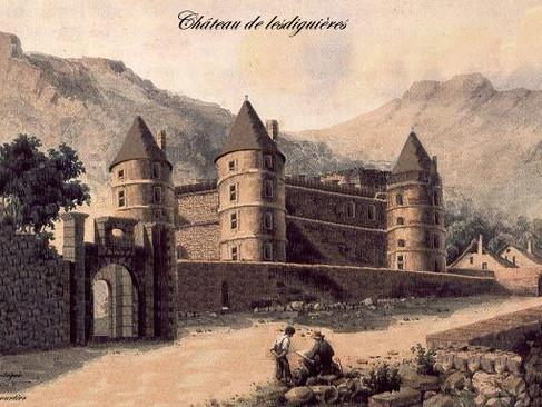 Château de Lesdiguières (Glaizil) / Замок Ледигьер (Глезиль)