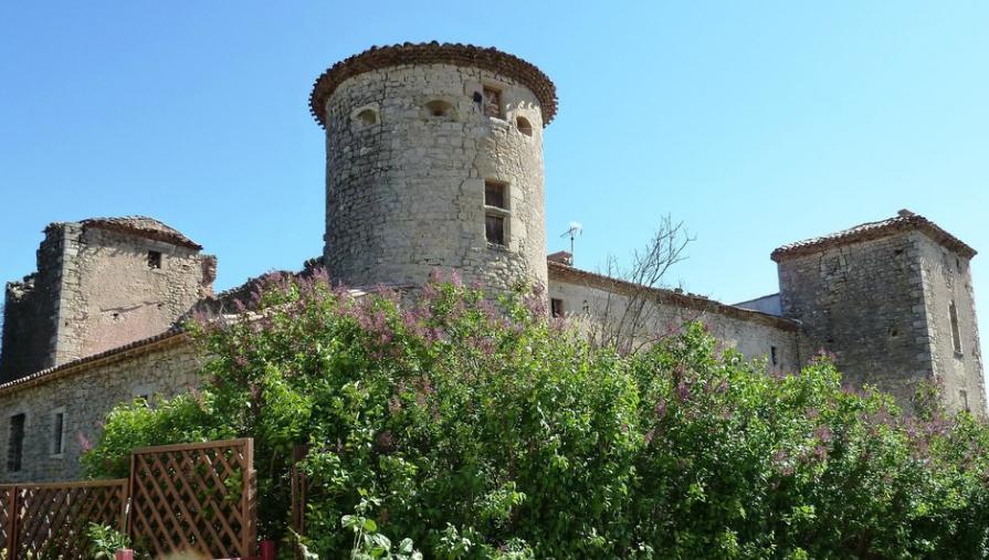 Замок Опуль / Château des Hautpoul
