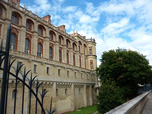 Château de Saint-Germain en Laye / Замок Сан-Жерман он Лэ. Старый королевский замок
