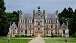 Château de Beaumesnil / Замок Бомениль. Замок для гурманов