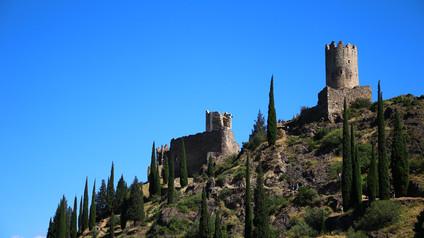 Château de Cabaret  / Замок Кабаре. Руины четырех крепостей Ластур/Lastours