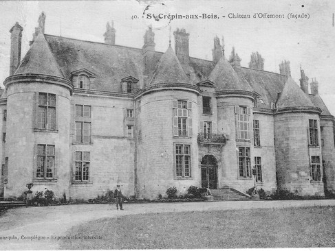 Château d'Offémont / Замок Офмон. Маркиза-отравительница