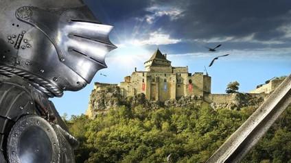 Château de Castelnaud-la-Chapelle / Замок Кастельно ля Шапель.