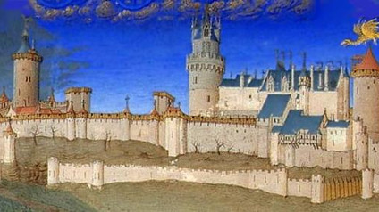Château de Lusignan / Замок Лузиньян. Легенда о фее Мелюзине