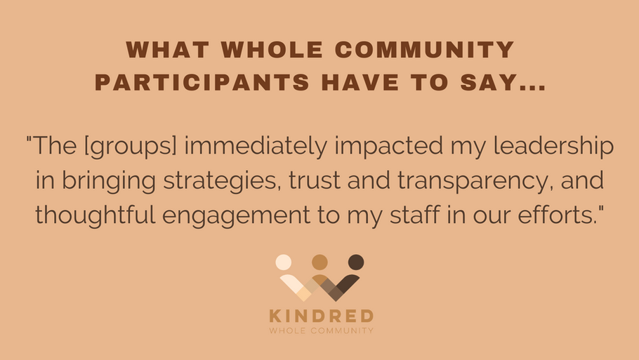 """""""The groups immediately impacted my leadership..."""""""