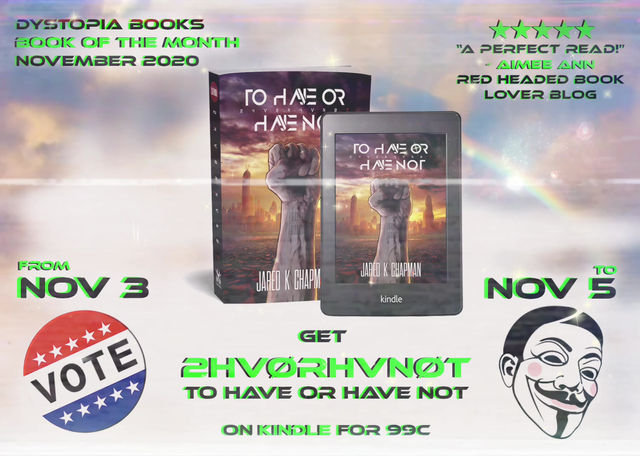 99c on KINDLE from Election Day until Guy Fawkes Day