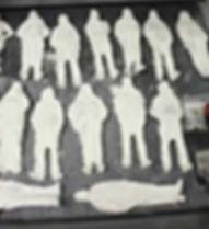 figurine 3D après impression 3D