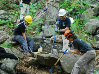 A Smooth Start for Rough Terrain: RSA Program Continues at Hudson Highlands State Park