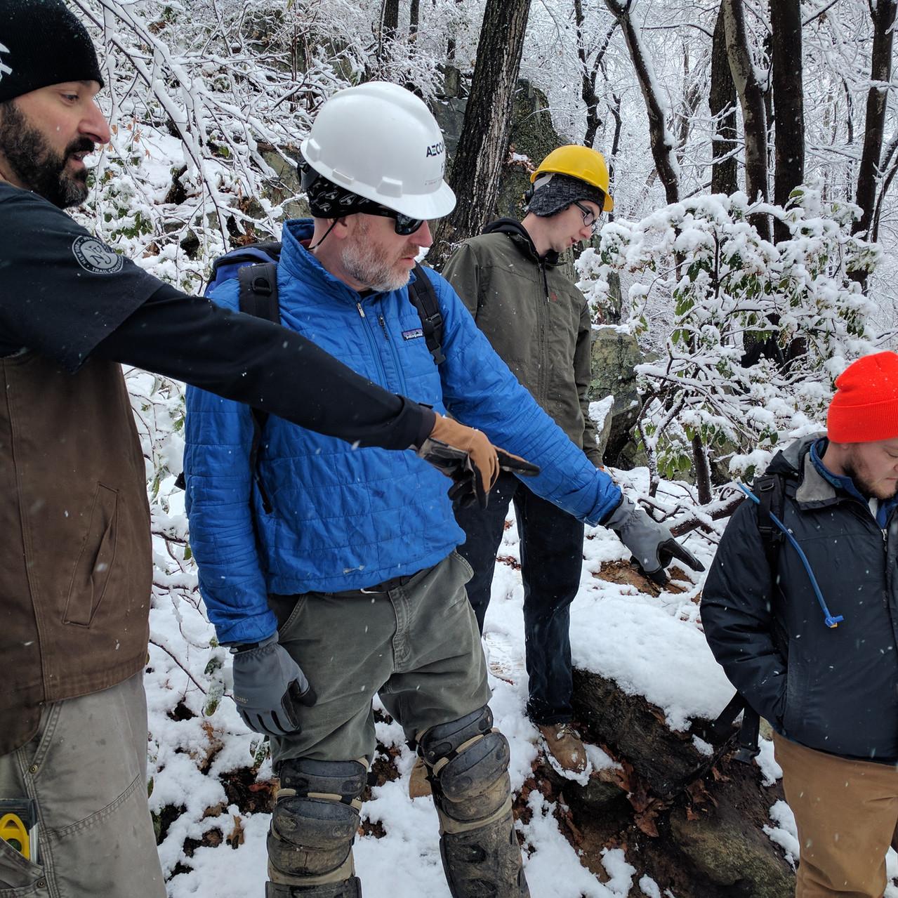 Winter Work in Fahnestock 2016