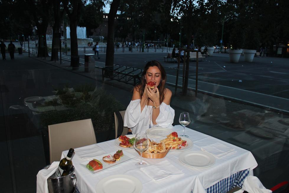Where to eat near Castello Sforzesco Milan