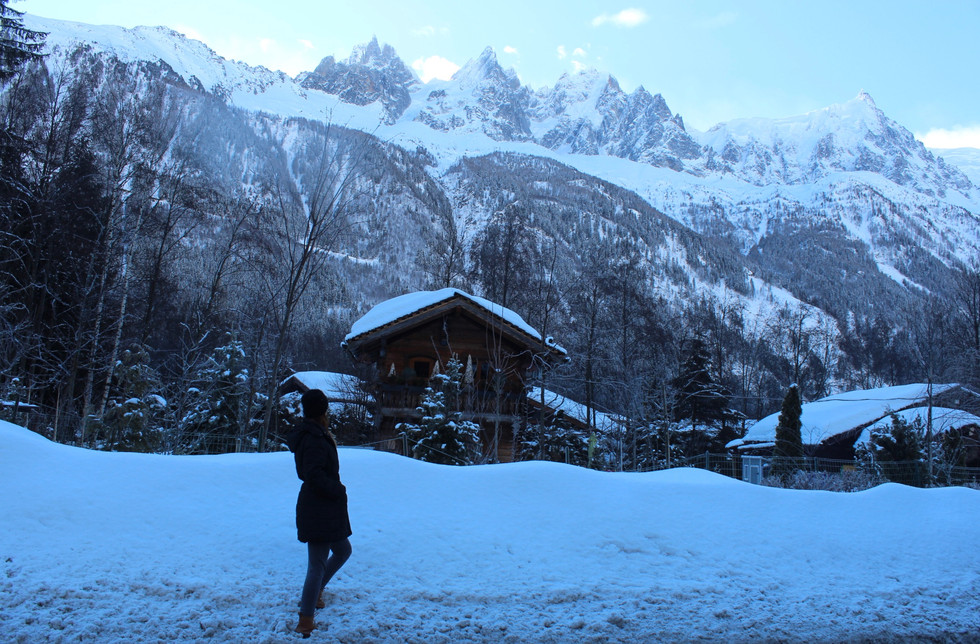Weekend Getaway in Chamonix at Les Lanchers Hotel