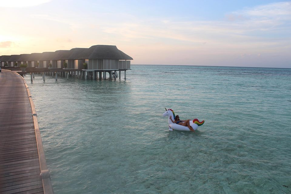 A have-it-all Honeymoon destination in the Maldives
