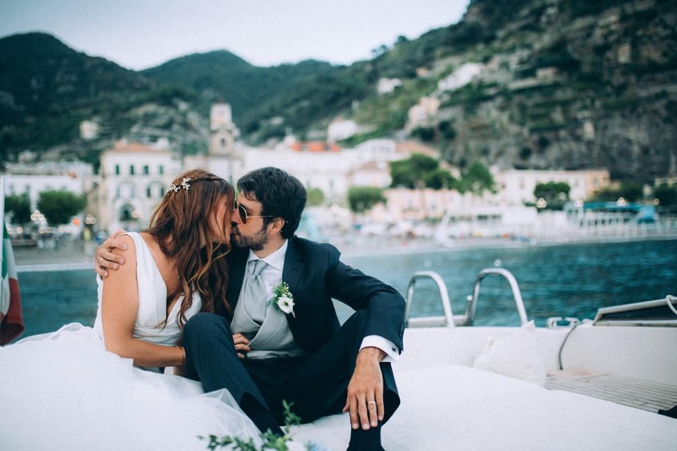 Our Amalfi Wedding