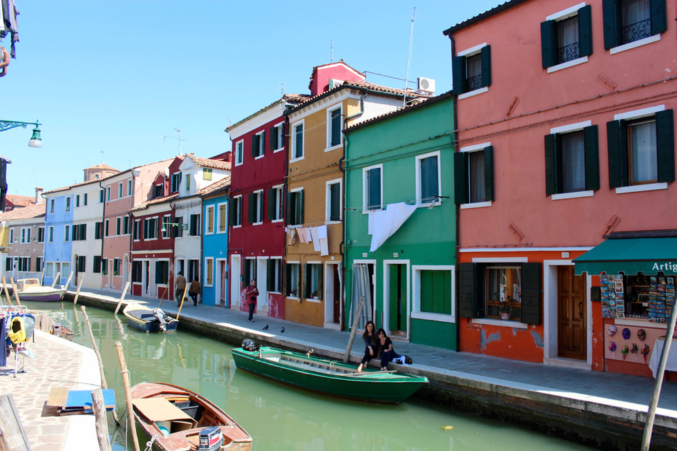 The Rainbow Island - Burano, Italy!
