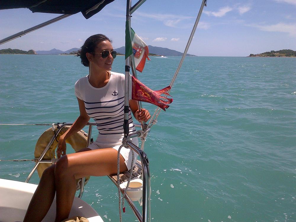 Sailing through the Islands