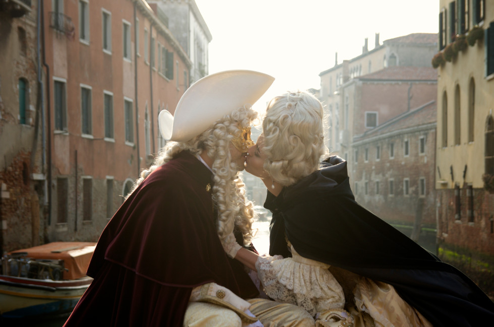 Carnivale a Venezia - Our Engagement!