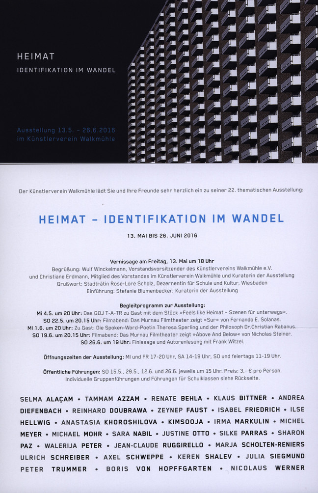 Heimat - Identifikation im Wandel