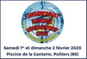 Championnat de Ligue FFSS Nouvelle Aquitaine de Sauvetage Sportif 'Eau Plate' 2020
