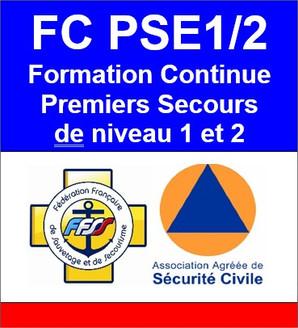 FC PSE1 et FC PSE1/2 en présentiel le lundi 22 juin !