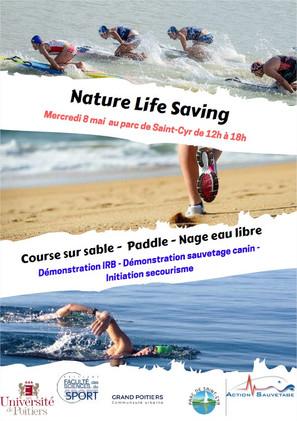 Nature Life Saving - Mercredi 8 mai à Saint-Cyr