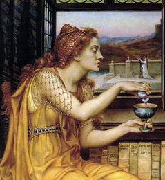 The_Love_Potion_by_Evelyn_De_Morgan_6.jp