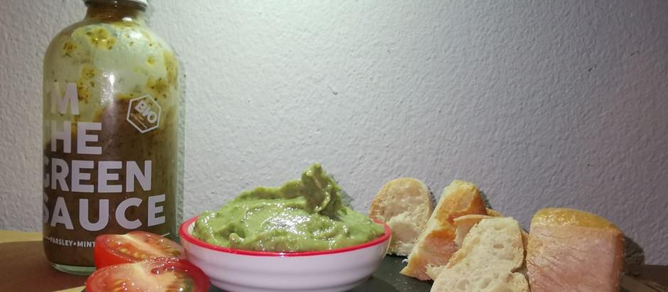 Minz-Avocado-Dip mit Grüner Sauce - Rezept von SWAIN -