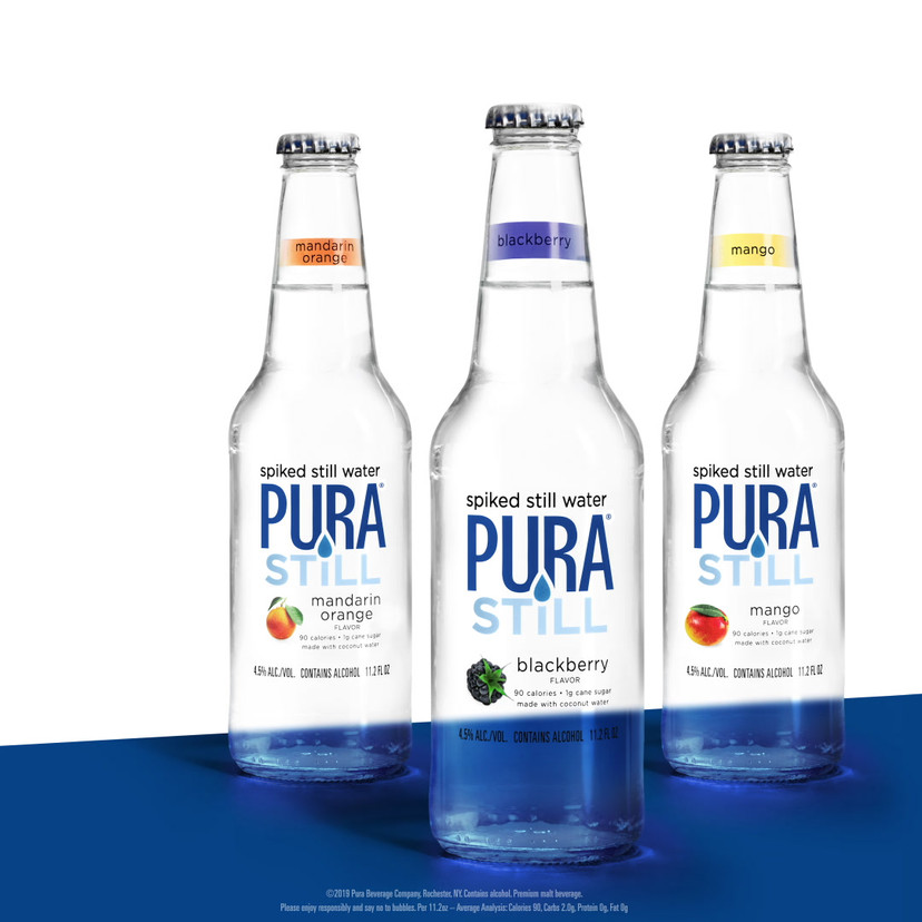 We also grappled with a problem we'd never encountered before: how do you show alcoholic water looking refreshing, without it just looking like water?