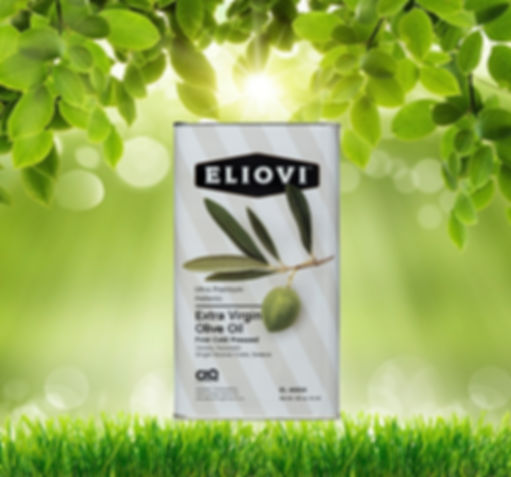 Eliovi Extra Virgin Olive Oil, 3ltr Can