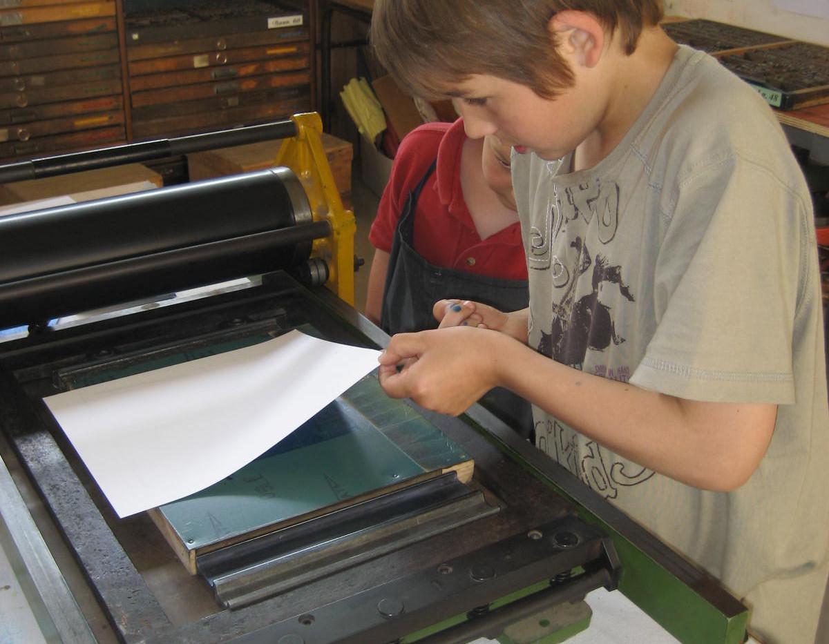 Atelier imprimerie