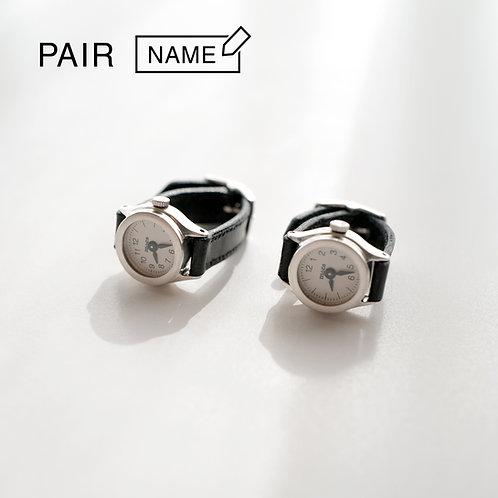 Pair-Arabic Silver (put name)