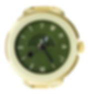 アソブネコ時計画像